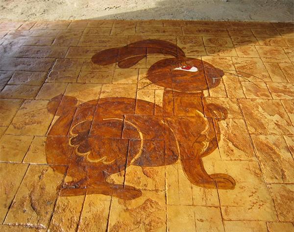 重庆艺术着色地坪