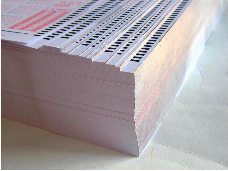 山东标准机读卡厂家动态 英语机读卡服务商|新闻动态-河北文柏云考科技发展有限公司