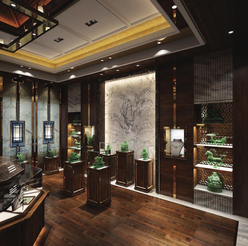 玉石展厅|海口商业设计-海南博淦设计顾问有限公司