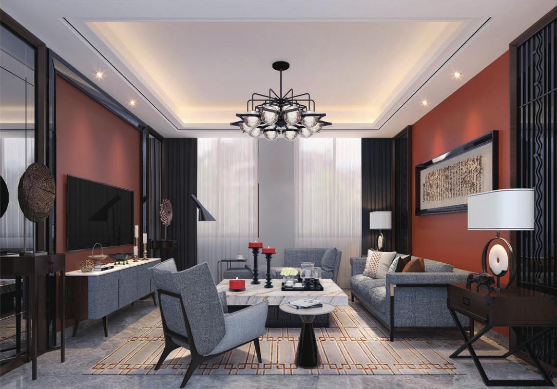 美信样板房|住宅设计-海南博淦设计顾问有限公司