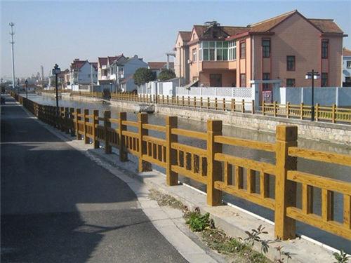 陕西仿木栏杆-陕西毅力景观材料有限公司