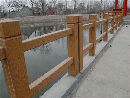 西安仿木栏杆-陕西毅力景观材料有限公司