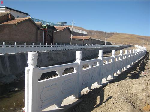 陕西雕花河堤护栏