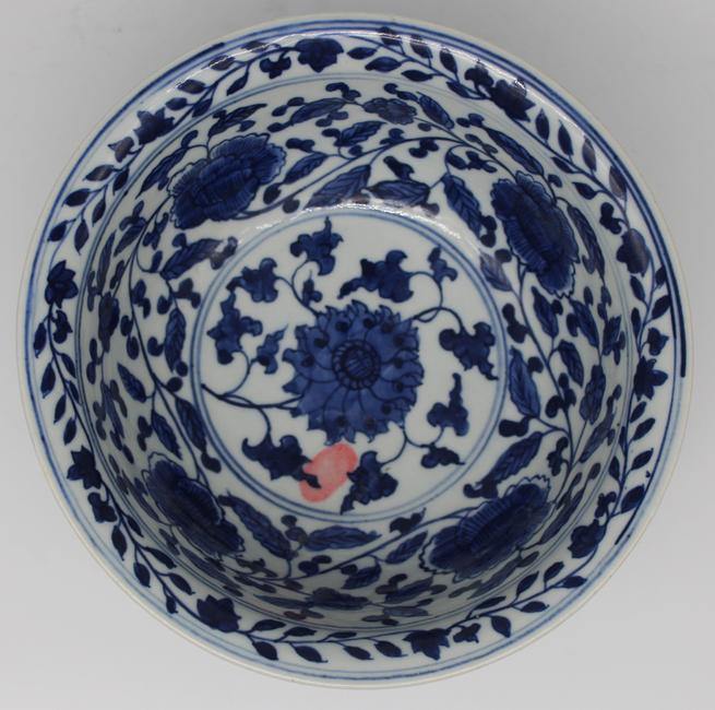 成化缠枝莲碗|古玩瓷器-泉州鼎尚文化艺术品有限公司