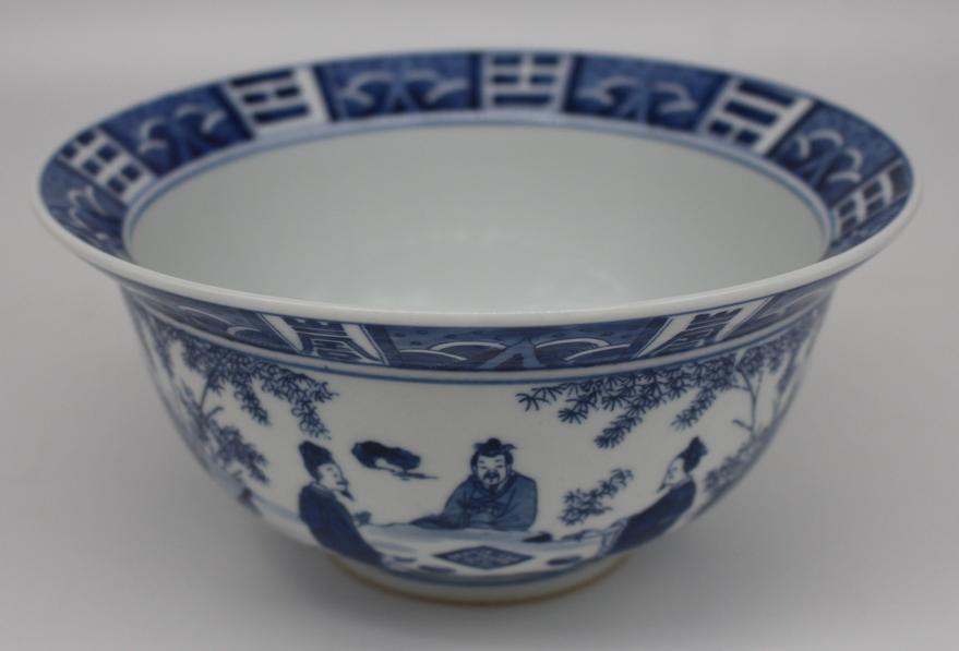 康熙折沿碗|古玩瓷器-泉州鼎尚文化艺术品有限公司