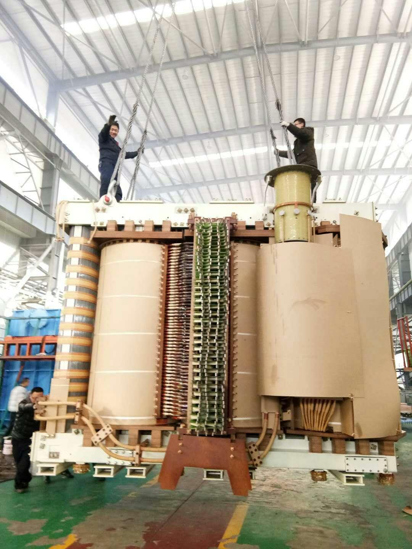 青海盐湖集团公司2台单相电石炉修理完备,预期交付|变压器知识-甘肃宏宇变压器有限公司