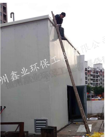華潤加氣站液壓設備降噪|噪聲振動項目-福州鑫業環保工程有限公司