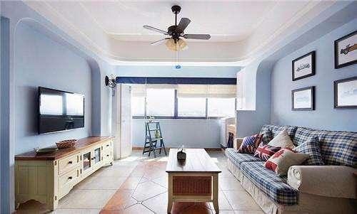 家居牆麵漆效果圖之地中海風格