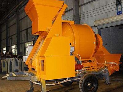 泰山力源机械混凝土搅拌拖泵