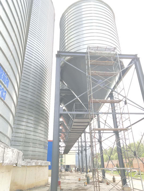 山西凱永飼料100噸x6成品倉工程!|合作案例-洛陽正豐機械有限公司