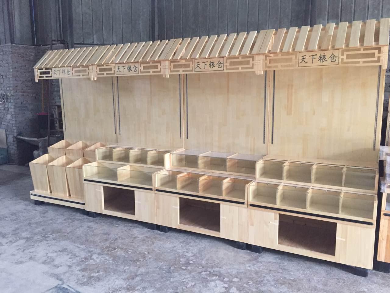 木质散装柜货架|超市木质货架-南岸区尧舜展柜制作部