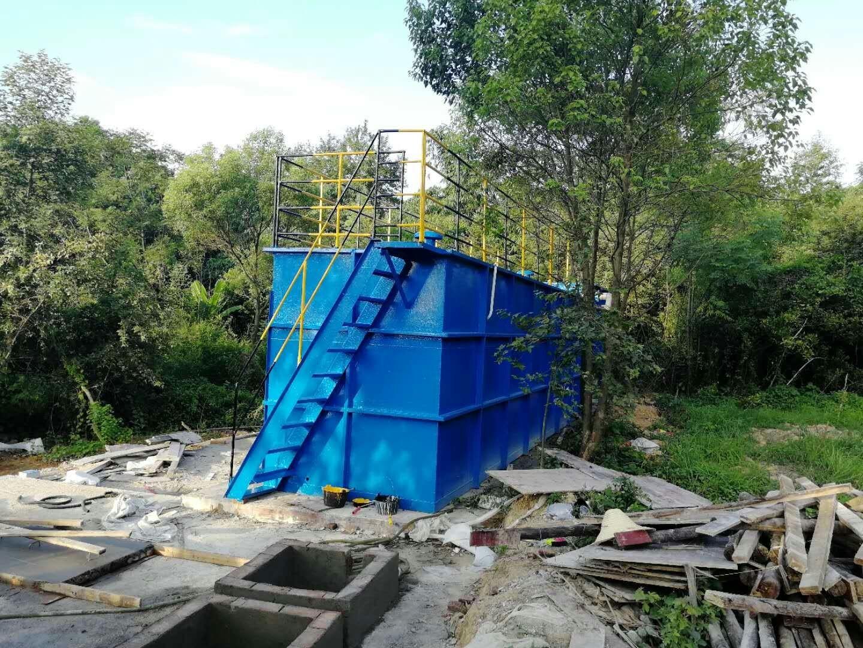 桂林某洗涤厂废水一体化污水处理设备项目|工程案例-广西森淼环保科技有限公司