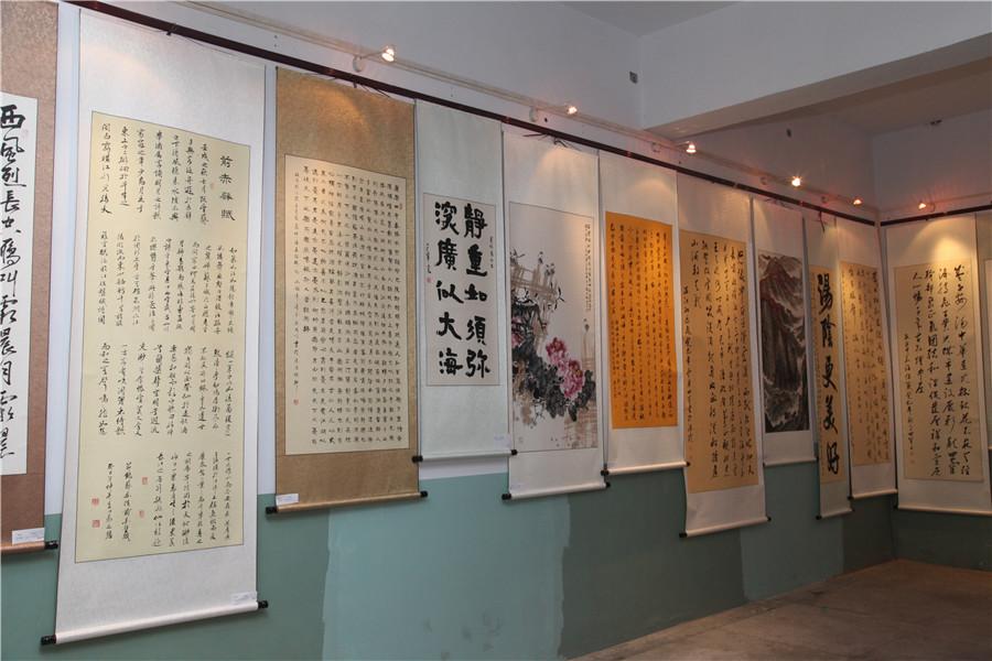 2014年银河书画展|美影书展赛-汤阴县文化馆