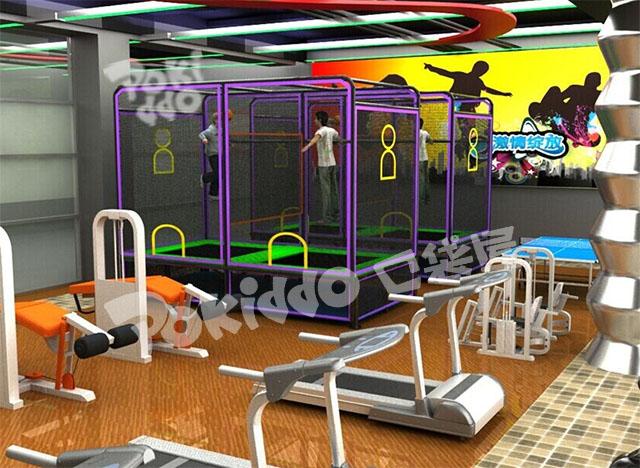 蹦床主题俱乐部蹦床公园系列-温州口袋屋游乐玩具有限公司