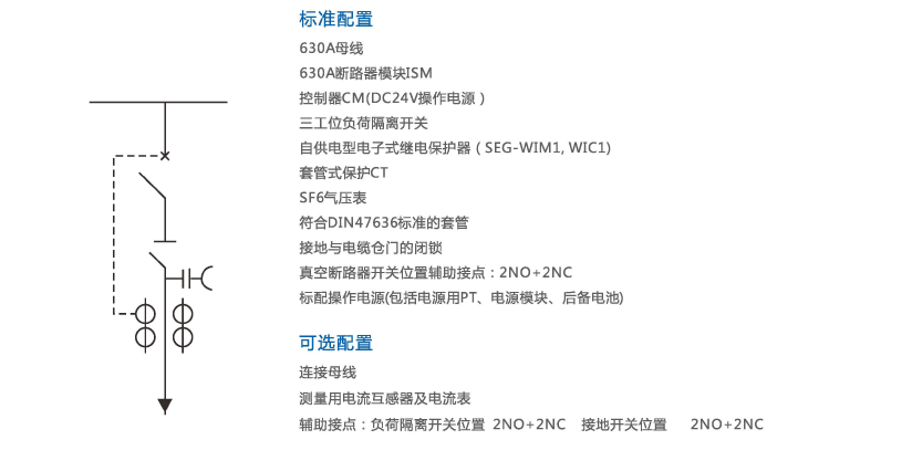 M口-12系列环网开关柜|充气柜系列-浙江东广成套柜架有限公司