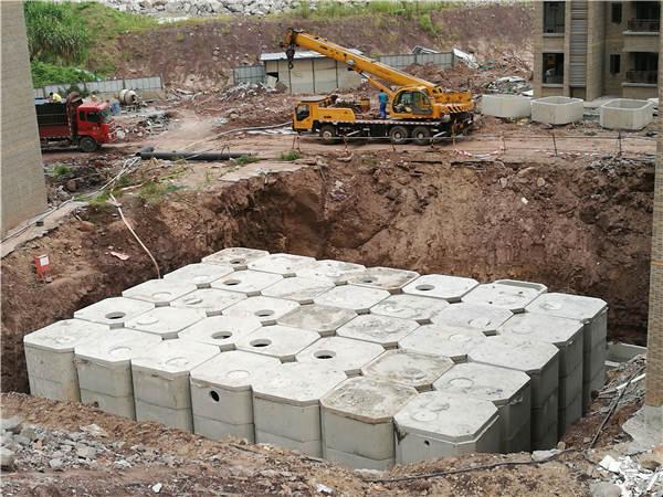 圆形钢筋混凝土化粪池的长处-重庆文元环保工程有限公司