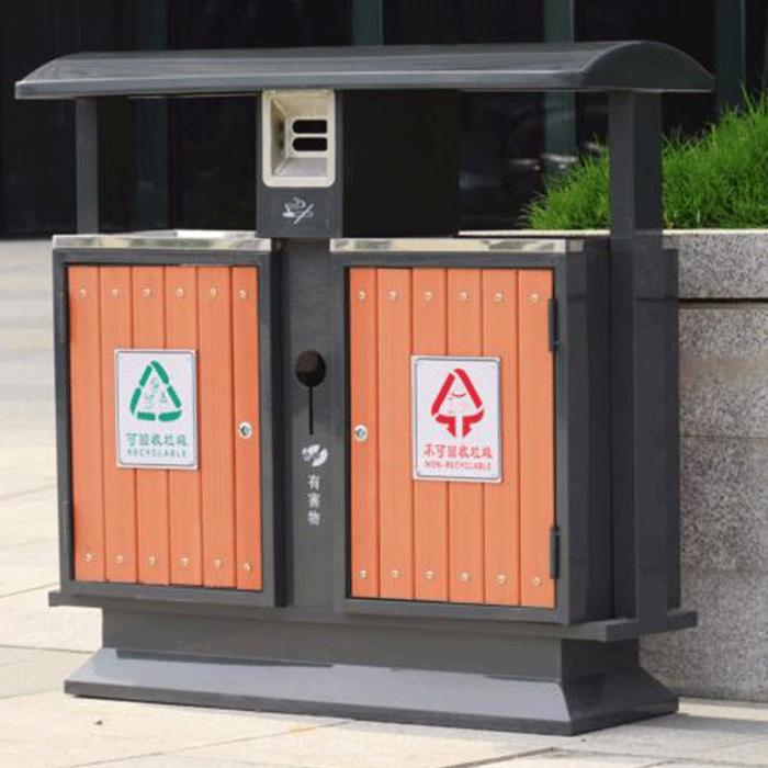 脚踏式垃圾桶的材质及环保垃圾桶有哪些优势-重庆旭雅文环保设备公司
