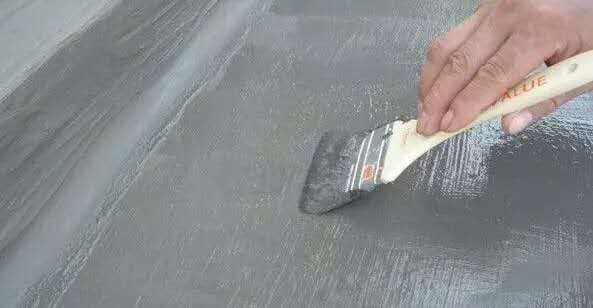 防水涂料涂刷