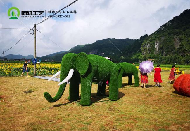 仿真绿雕大象1.jpg