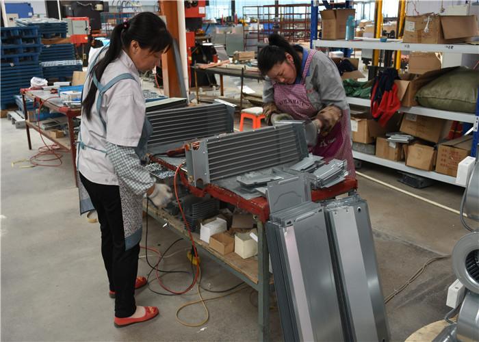 风机盘管生产工艺流程-带大家实地浏览一下风机盘管厂家生产车间|新闻资讯-山东冠诺环境科技有限公司