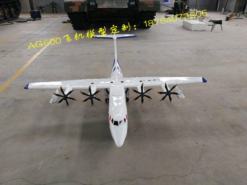 大比例AG600飞机模型定制厂家,1:16鲲龙600模型|教育教学用飞机模型-山东鼎航模型有限公司