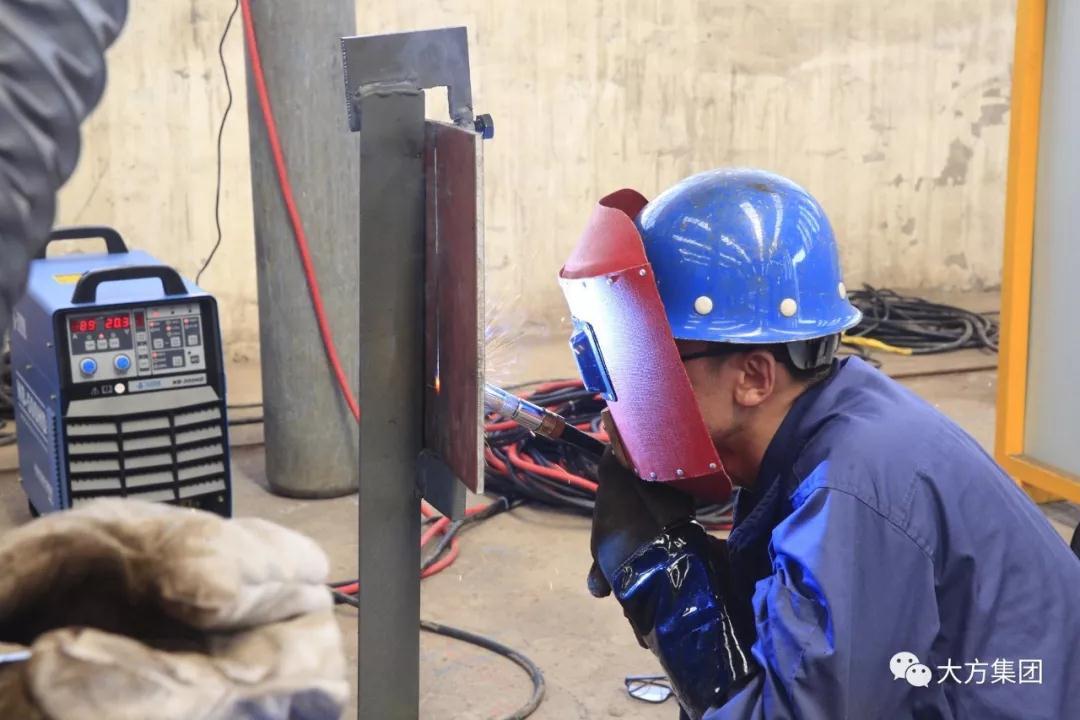 河南大方重型机器有限公司|举办2018年度焊工技能大赛|集团新闻-河南省大方重型机器有限公司
