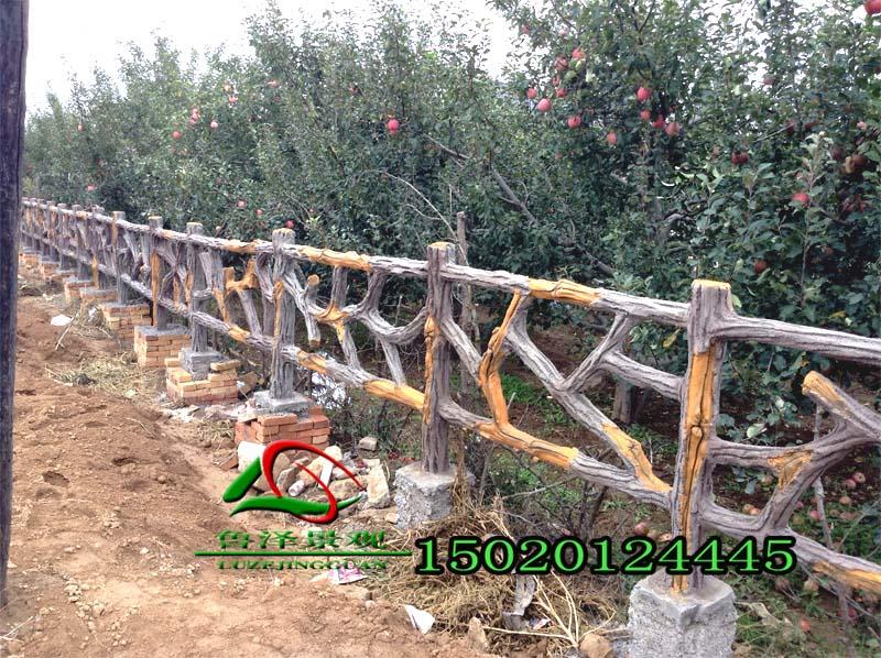 仿木护栏-仿木护栏报价-仿木护栏施工队|仿木栏杆-山东鲁泽景观工程有限公司