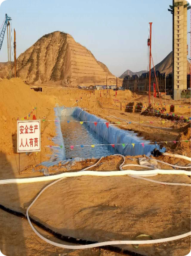兰州万科万科城项目一期地基处理工程|SDDC工法旋挖引孔、冲击成桩-陕西岩泰基础工程有限公司