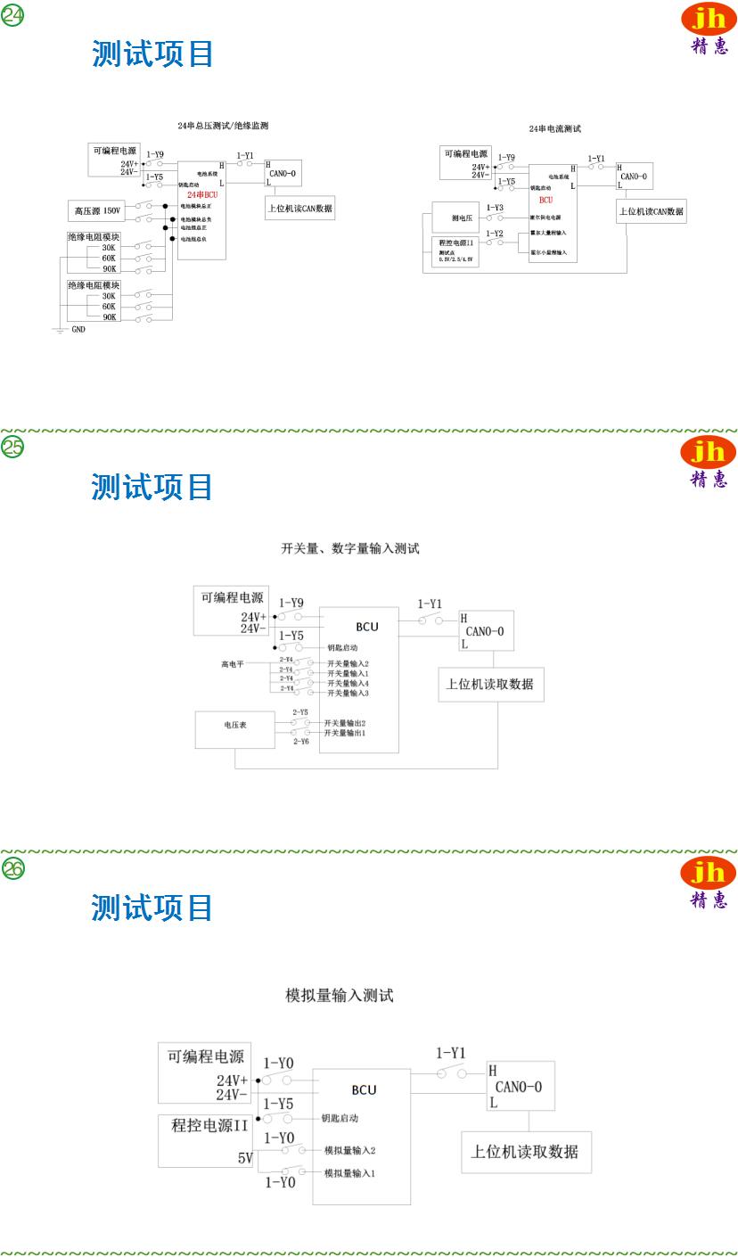 JH9812A-BMS测试平台|2、JH9812A-惠州精惠仪器设备有限公司