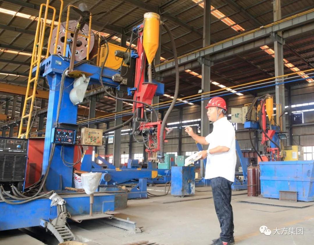 【大方正能量】河南大方重型機器有限公司生產設備的守護人|人物風采-河南省大方重型機器有限公司