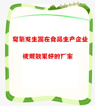 臭氧发生器在食品生产企业使用效果好的厂家.png