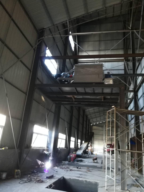 平頂山市今良農業發酵料混合打包系統工程進展|新聞動態-洛陽正豐機械有限公司