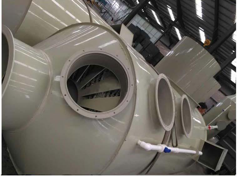 pp噴淋塔廢氣治理設備|pp噴淋塔廢氣治理設備-泰得裕環保工程有限公司