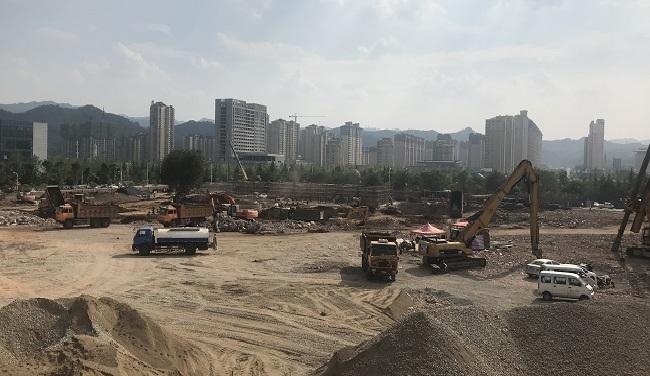商洛碧桂園翡翠灣項目樁基礎、基坑支護及降水工程|基坑支護、降水工程-陜西巖泰基礎工程有限公司