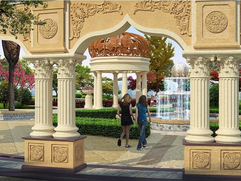 广河县花园小区设计