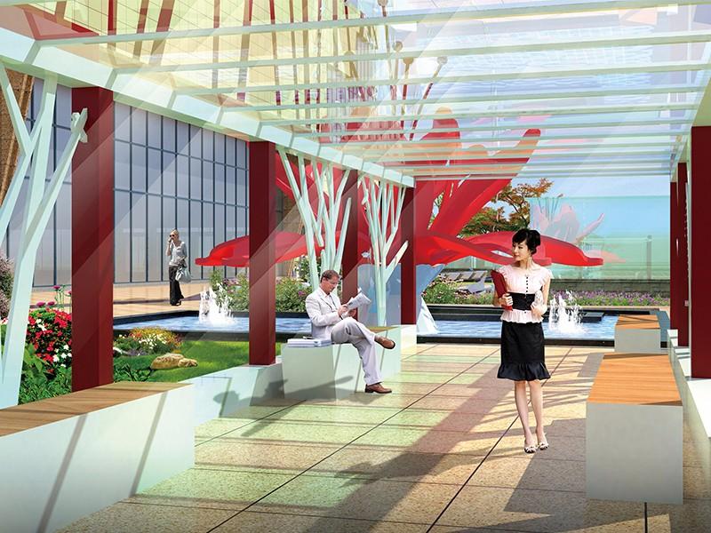 环县新天地广场设计