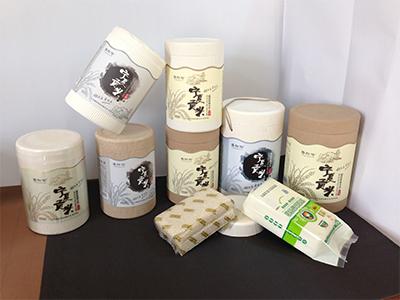 研發新型紙塑大米包裝桶.JPG