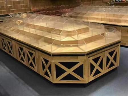 木质货架批发|木质货架案例-南岸区尧舜展柜制作部