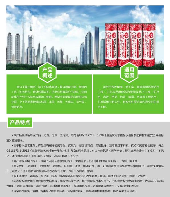 高分子聚乙烯丙(涤)纶阻燃防水卷材 介绍.png