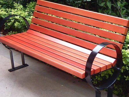 钢木休闲椅-重庆旭雅文环保设备公司