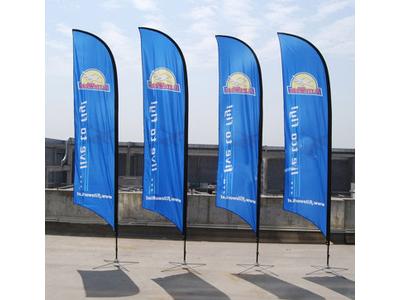 兰州旗帜制作 各类旗帜-甘肃鑫彩虹广告图文制作有限责任公司