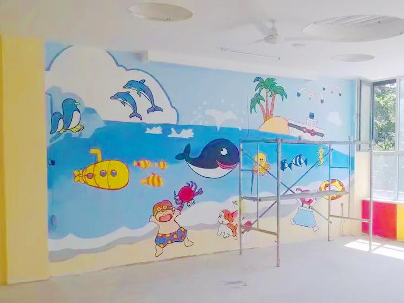 兰州墙体彩绘文化墙 墙体彩绘-甘肃鑫彩虹广告图文制作有限责任公司
