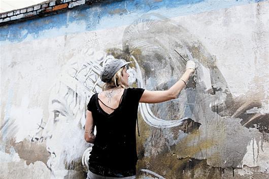 街头涂鸦领域