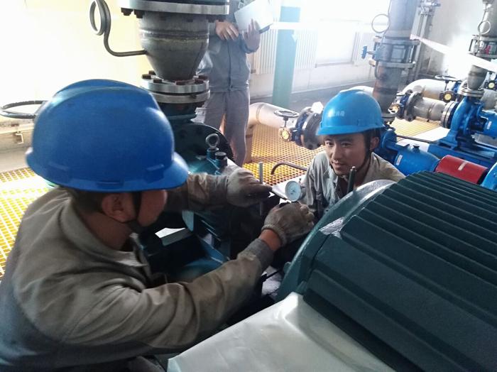 河曲CFB項目圓滿舉辦轉動設備對輪中心技術比武|新聞動態-北京騰疆電力工程有限公司