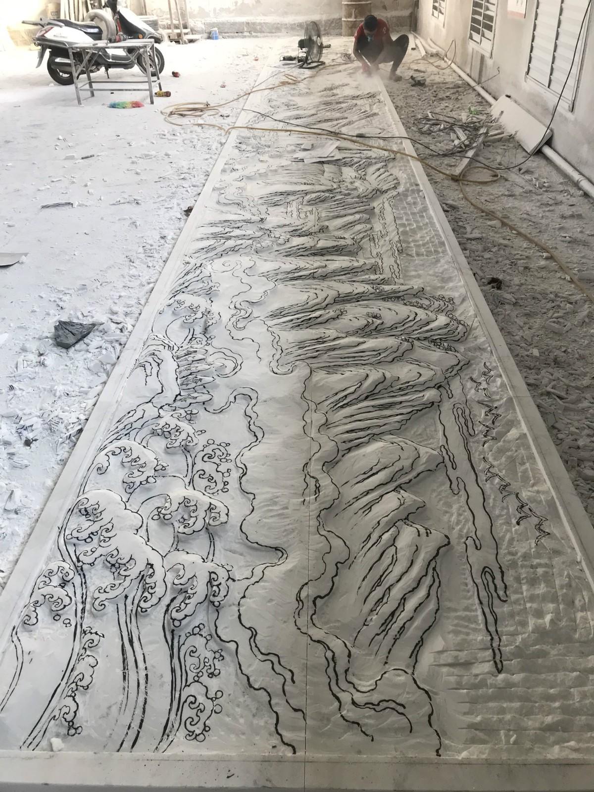 广东四川白山水浮雕|建筑装饰-福建惠安县森源石材有限公司
