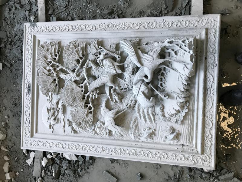 花鸟浮雕合集|建筑装饰-福建惠安县森源石材有限公司