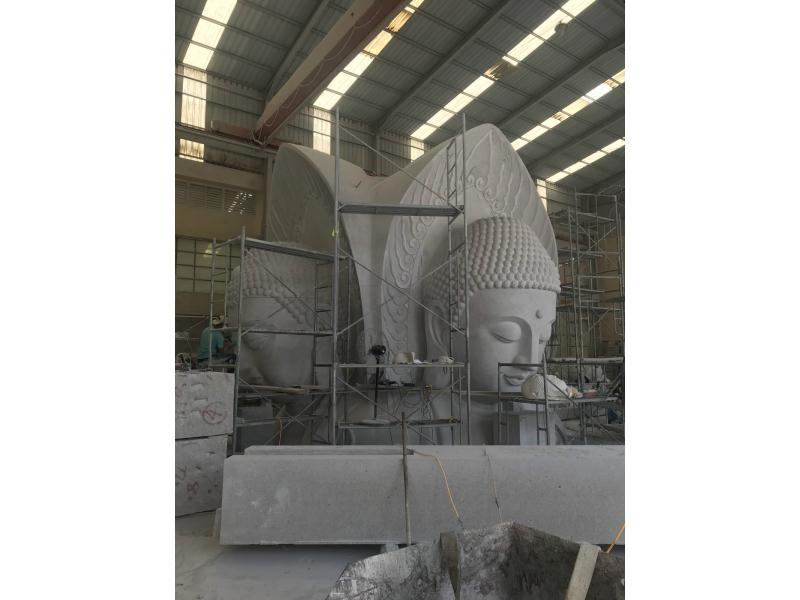 18米四方佛雕像|寺庙古建-福建惠安县森源石材有限公司