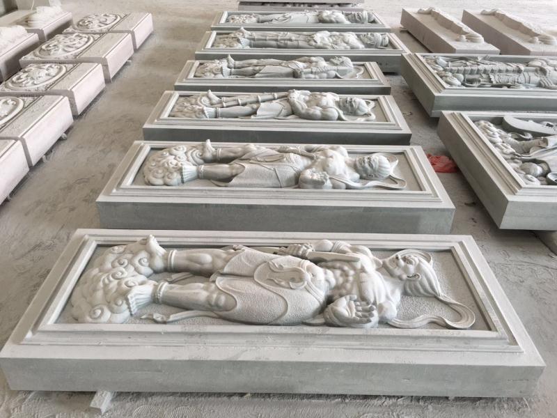 浮雕人物 寺庙古建-福建惠安县森源石材有限公司