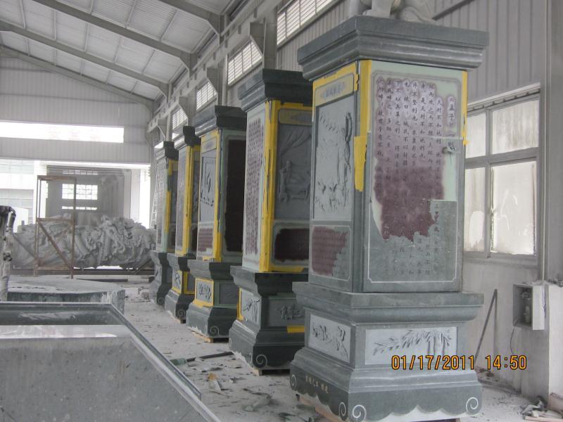 龍柱|寺庙古建-福建惠安县森源石材有限公司