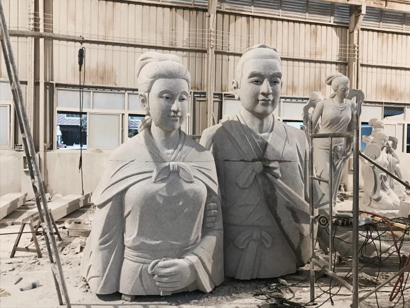 6米董永与七仙女|园林景观-福建惠安县森源石材有限公司
